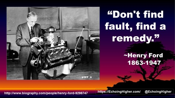 Henry Ford remedy